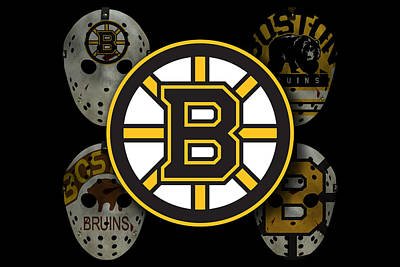 Winter Photograph - Boston Bruins by Joe Hamilton