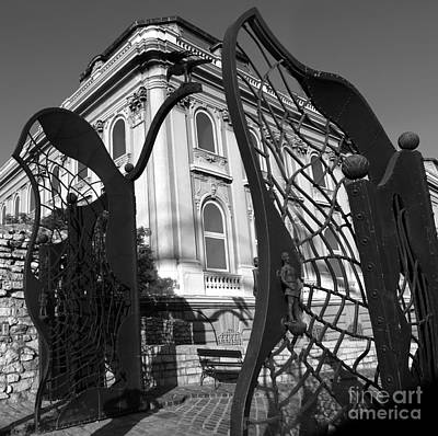Photograph - Crow Gate - Budapest Hungary  by Gregory Dyer