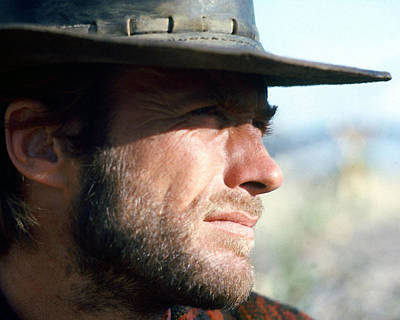 Clint Photograph - Clint Eastwood by Silver Screen