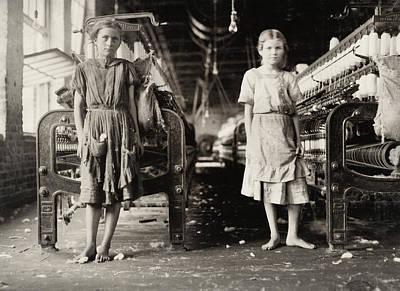 Hine Child Labor, 1911 Art Print by Granger