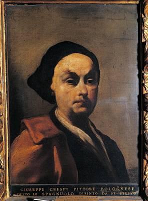 Self-portrait Photograph - Italy, Lombardy, Milan, Brera Art by Everett