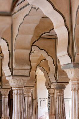 Amer Photograph - Jaipur, Rajasthan, India by Charles O. Cecil