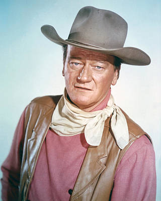 Wayne Photograph - John Wayne by Silver Screen
