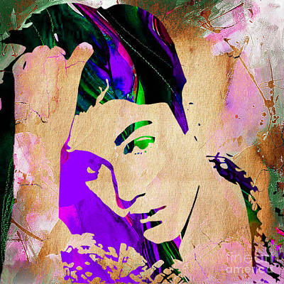 Rap Mixed Media - Justin Bieber Collection by Marvin Blaine