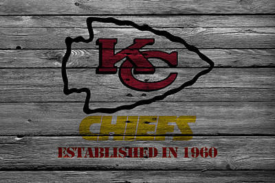 Photograph - Kansas City Chiefs by Joe Hamilton