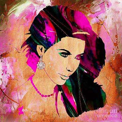 Reality Mixed Media - Kim Kardashian Collection by Marvin Blaine