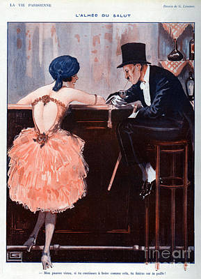 Nineteen Twenties Drawing - La Vie Parisienne  1920 1920s France by The Advertising Archives