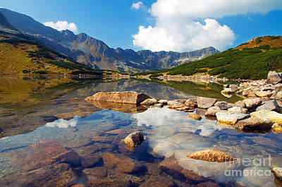 Peak Photograph - Mountains Landscape by Michal Bednarek