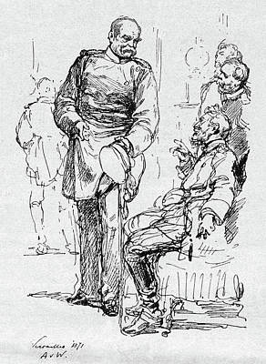 Chancellor Drawing - Prince Otto Von Bismarck (1815-1898) by Granger