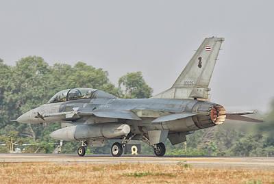 Photograph - Royal Thai Air Force F-16 by Giovanni Colla