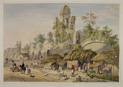 Temple Religion Photograph - Views Of Calcutta And Its Environs by British Library