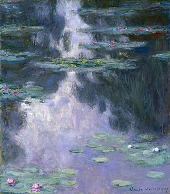 Nymphe Painting - Water Lilies by Claude Monet