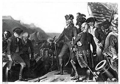 American Revolution Painting - Yorktown Surrender, 1781 by Granger