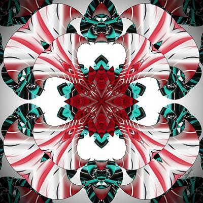 Digital Art - 2300 13 by Brian Johnson