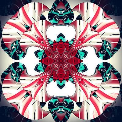 Digital Art - 2300 14 by Brian Johnson