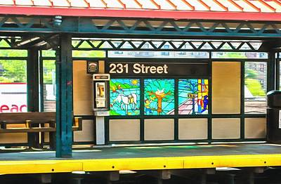 231 Street Subway Art Print