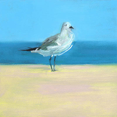 Shore Birds Painting - Rcnpaintings.com by Chris N Rohrbach