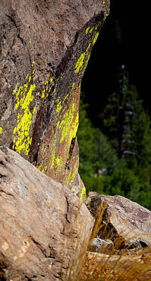 Jerry Sodorff Royalty-Free and Rights-Managed Images - 23494 Oak Creek Rock by Jerry Sodorff