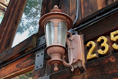 Photograph - 235 Lamp by Trent Mallett