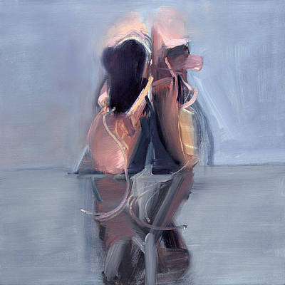 Ballerina Painting - Rcnpaintings.com by Chris N Rohrbach