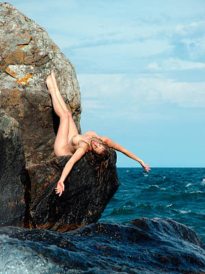 Photograph - 2398 Lake Superior Nude by Chris Maher