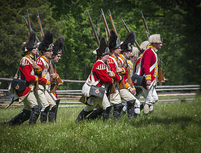23rd Regiment Of Foot Original by Bruce Neumann