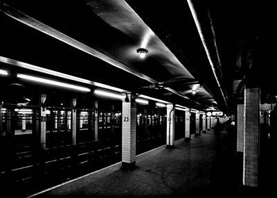 Apple Photograph - 23rd Street Station by Benjamin Yeager