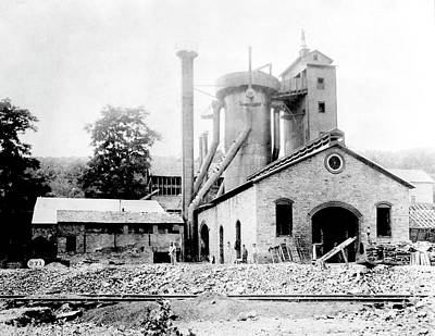 18th Century Photograph - Blast Furnace by Hagley Museum And Archive