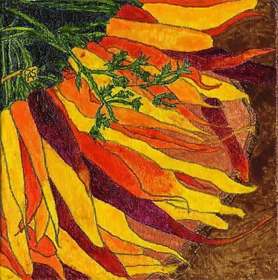 24 Carrots Gold Art Print
