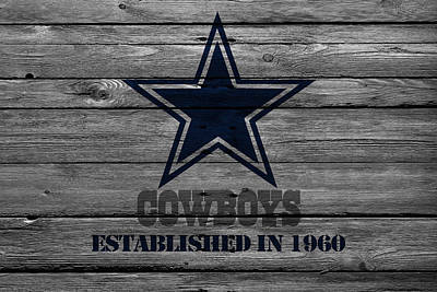 Photograph - Dallas Cowboys by Joe Hamilton