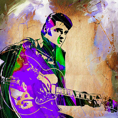 Elvis Mixed Media - Elvis Presley Collection by Marvin Blaine