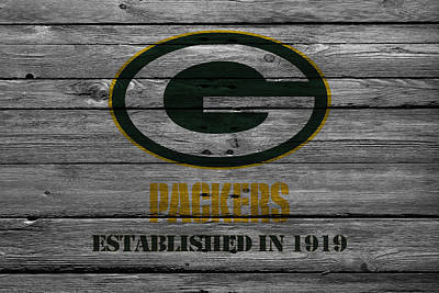 Offense Photograph - Green Bay Packers by Joe Hamilton