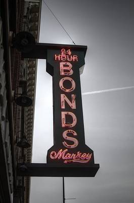 Photograph - 24 Hours Bonds by Michael Colgate