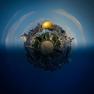 Photograph - 24 Hours In Jerusalem by David Morefield