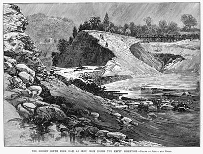 North Fork Painting - Johnstown Flood, 1889 by Granger