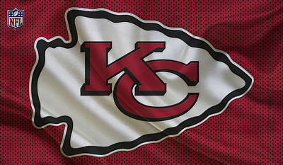 Kansas City Chiefs Art Print by Joe Hamilton