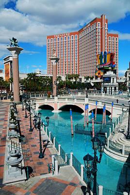 Photograph - Las Vegas Nevada. by Songquan Deng