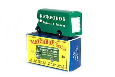 Photograph - Matchbox 1-75 by Gunter Nezhoda