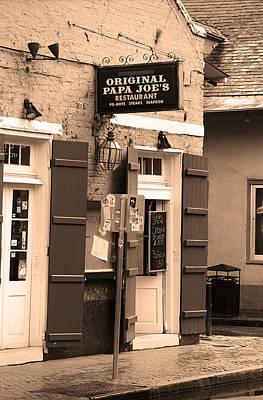 New Orleans - Bourbon Street 30 Art Print by Frank Romeo
