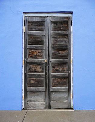 Photograph - New Orleans Door by Louis Maistros