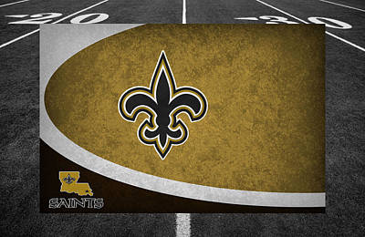 Football Photograph - New Orleans Saints by Joe Hamilton