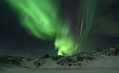 Photograph - Northern Lightsaurora Borealis by Nurdugphotos
