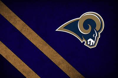 Christmas Photograph - St Louis Rams by Joe Hamilton