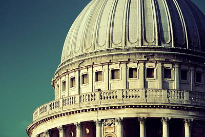 London Skyline Royalty-Free and Rights-Managed Images - St Pauls cathedral by Songquan Deng