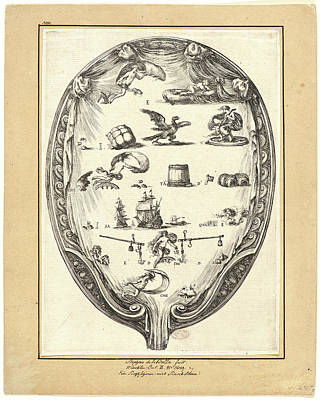 Stefano Della Bella Italian Art Print by Litz Collection