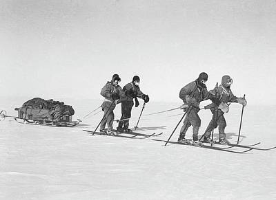 Henry Wilson Photograph - Terra Nova Antarctic Exploration by Scott Polar Research Institute