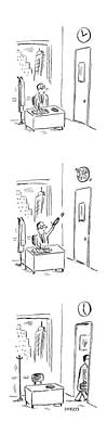 Spin Drawing - New Yorker May 29th, 2006 by David Sipress