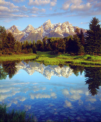 Teton Photograph - Usa, Wyoming, Grand Teton National Park by Jaynes Gallery