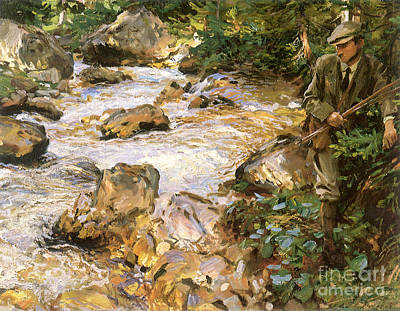 Rill Painting - Victorian Art Piece by Indian Summer