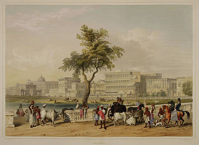 Calcutta Photograph - Views Of Calcutta And Its Environs by British Library